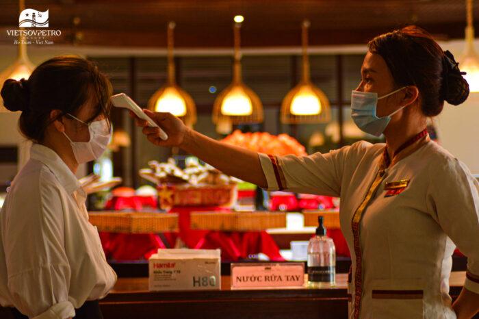 Vsp Resort Chap Hanh Nghiem Quy Dinh 5k Chong Dich Covid 19 Ho Tram Brvt 11
