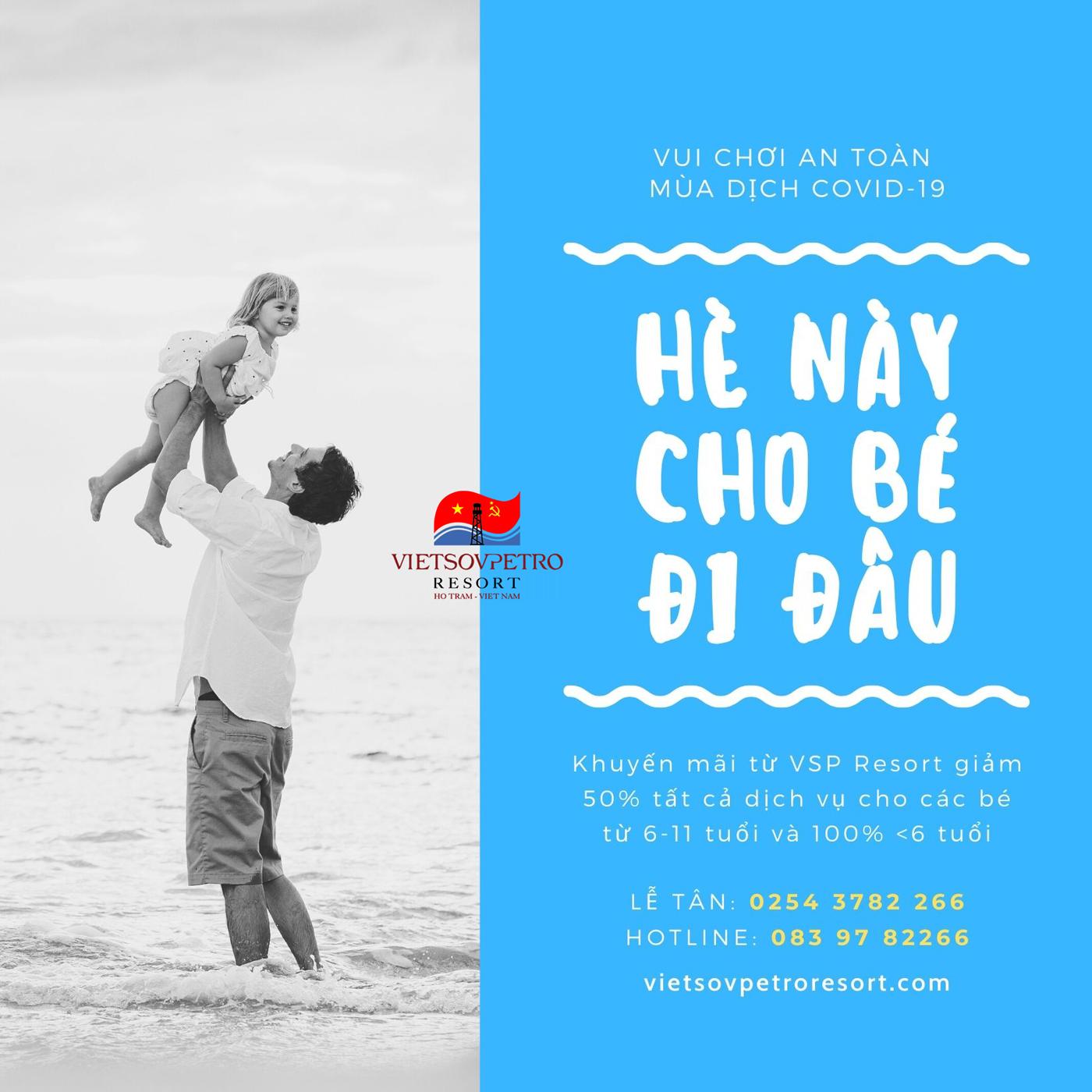 Vsp Resort Khuyen Mai He Cho Be 2021